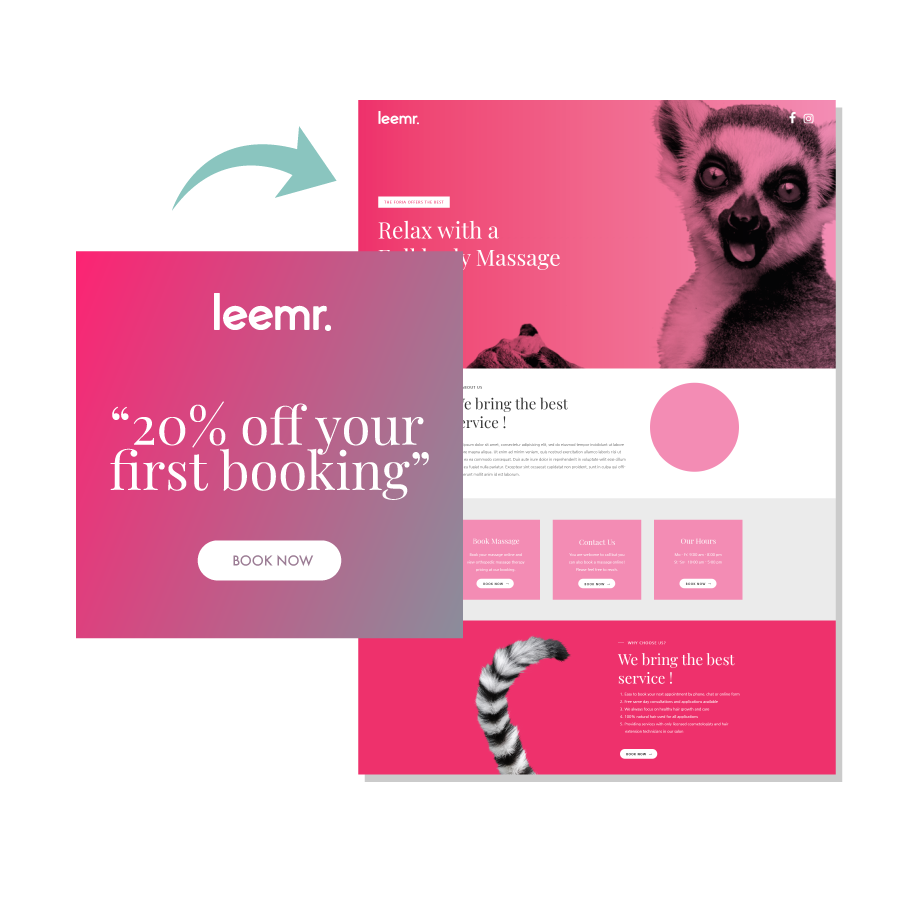 Image displaying the importance of message matching between ads and landing pages.